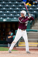 Eric Cheray #14 of the Missouri State Bears at bat during a game against the Wichita State Shockers at Hammons Field on May 5, 2013 in Springfield, Missouri. (David Welker/Four Seam Images)