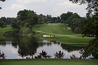 View of the 13th fairway during the preview days of the 2014 Maybank Malaysian Open at the Kuala Lumpur Golf & Country Club, Kuala Lumpur, Malaysia. Picture:  David Lloyd / www.golffile.ie