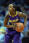 30 December 2014: Albany's Imani Tate. The University of North Carolina Tar Heels hosted the University at Albany Great Danes at Carmichael Arena in Chapel Hill, North Carolina in a 2014-15 NCAA Division I Women's Basketball game. UNC won the game 71-56.