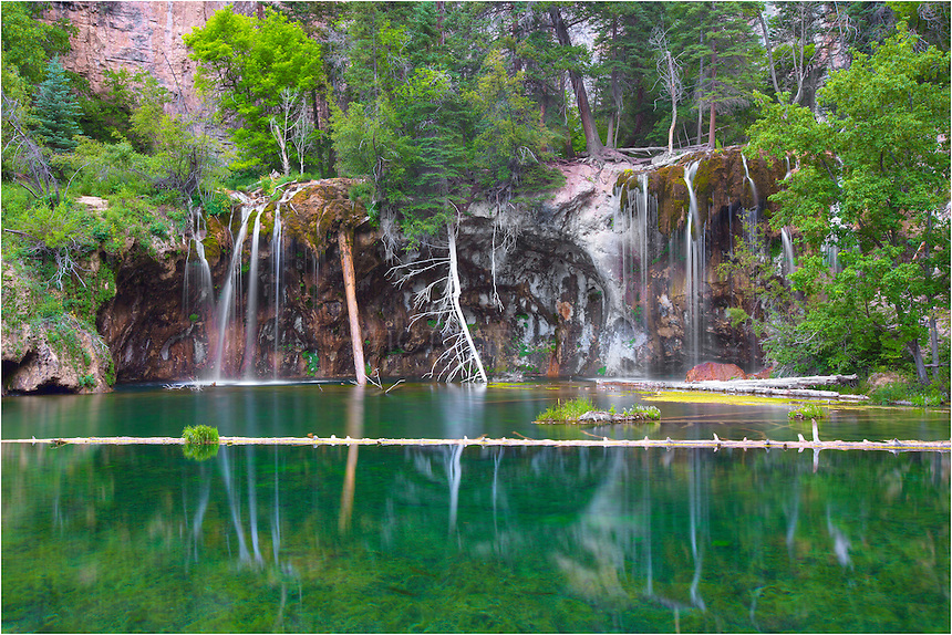 The Payoff Of A Short Hike To Hanging Lake Near Glenwood Springs