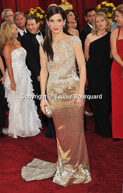 Sandra Bullock _132   -<br /> 82nd Academy Awards arrival at the Kodak Theatre In Los Angeles.