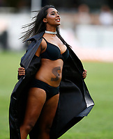 General views Sharks Flasher girls during the Super rugby match between The Cell C Sharks and the Melbourne Rebels at Jonsson Kings Park Stadium in Durban, South Africa 23rd March 2019. Photo: Steve Haag / stevehaagsports.com
