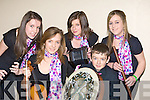Ballylongford ballad group at the KDYS Variety show county finals in the Aras Padraig Killarney on Saturday l-r: Rachel Hanrahan, Ca?it McEllistrim, Emily Wren, James O'Brien and Saoirse O'Connor