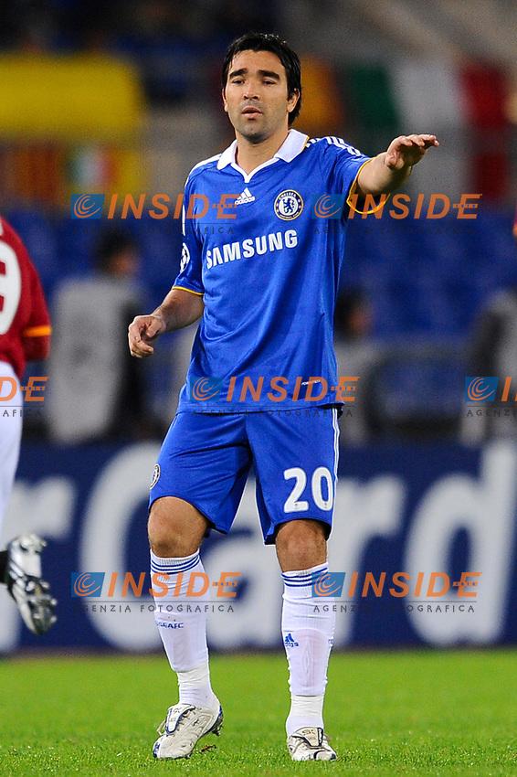 """Deco (Chelsea) <br /> Roma 4/11/2008 Stadio """"Olimpico"""" <br /> Champions League 2008/2009<br /> Roma Chelsea (3-1)<br /> Foto Andrea Staccioli Insidefoto"""