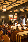 USA, Colorado, Aspen, apres ski in the the Living Room Lounge at the Jerome Hotel