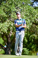 Nick Taylor (CAN) watches his tee shot on 2 during round 4 of the Valero Texas Open, AT&amp;T Oaks Course, TPC San Antonio, San Antonio, Texas, USA. 4/23/2017.<br /> Picture: Golffile | Ken Murray<br /> <br /> <br /> All photo usage must carry mandatory copyright credit (&copy; Golffile | Ken Murray)
