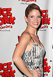 Kelli OHara .attending the Broadway Opening Night After Party for  'Nice Work If You Can Get It' at the Mariott Marquis  on 4/24/2012 in New York City.