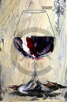 Malenda, STILL LIFES, paintings, red wine3 m(USMT129,#I#) Stilleben, naturaleza muerta, illustrations, pinturas