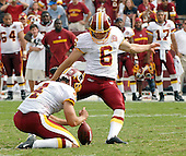 Landover, MD - September 9, 2007 -- Miami Dolphins visit the Washington Redskins at FedEx Field in Landover, Maryland on Sunday, September 9, 2007.  The Redskins won the game in overtime 16 - 13..Credit: Ron Sachs / CNP