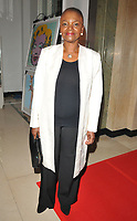 Valerie Amos, Baroness Amos at the Lux Afrique gala dinner, Claridge's Hotel, Brook Street, London, England, UK, on Sunday 01 October 2017.<br /> CAP/CAN<br /> &copy;CAN/Capital Pictures