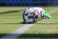 San Jose, CA - Saturday July 29, 2017: Adidas MLS soccer balls prior to a Major League Soccer (MLS) match between the San Jose Earthquakes and Colorado Rapids at Avaya Stadium.