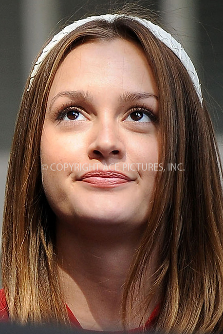 WWW.ACEPIXS.COM . . . . . ....July 13 2009, New York City....Actress Leighton Meester on the Upper East Side set of the TV show 'Gossip Girl' on July 13 2009 in New York City....Please byline: KRISTIN CALLAHAN - ACEPIXS.COM.. . . . . . ..Ace Pictures, Inc:  ..tel: (212) 243 8787 or (646) 769 0430..e-mail: info@acepixs.com..web: http://www.acepixs.com