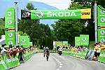 Michael Matthews (AUS) Team Sunweb 1st at the intermediate sprint during Stage 9 of the 104th edition of the Tour de France 2017, running 181.5km from Nantua to Chambery, France. 9th July 2017.<br /> Picture: ASO/Alex Broadway | Cyclefile<br /> <br /> <br /> All photos usage must carry mandatory copyright credit (&copy; Cyclefile | ASO/Alex Broadway)