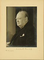 BNPS.co.uk (01202 558833)<br /> Pic: MitchellsAuctionHouse/BNPS<br /> <br /> PICTURED: Steer-Webster's signed Churchill photograph.<br /> <br /> The fascinating archive of one of the engineers who designed the Mulberry Harbours which were installed off the Normandy coast following the D-Day landings has come to light.<br /> <br /> Colonel Vassal Charles Steer-Webster OBE helped create the giant, floating artificial harbours which protected anchored supply ships from German attacks.<br /> <br /> They were built in the dry docks on The Thames and Clyde and pulled across the channel by tugs before being hastily assembled.<br /> <br /> Col Steer-Webster was in almost daily contact with Churchill during their development ahead of June 6, 1944. Now, his personal effects, including a letter of thanks from Winston Churchill, are being sold by his nephew with Mitchells Auctioneers, of Cockermouth, Cumbria. <br /> <br /> The archive, which is expected to fetch £15,000, also features 150 photos showing Mulberry B's construction and use, as well as his medals.