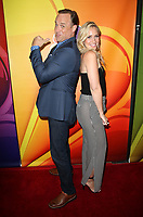 BEVERLY HILLS, CA - AUGUST 3: Matt Iseman and Kristine Leahy at the 2017 NBC Summer TCA Press Tour at the Beverly Hilton Hotel in Beverly Hills , California on August 3, 2017. Credit: Faye Sadou/MediaPunch