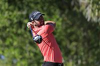 Scott Jamieson (SCO) on the 2nd tee during the 2nd round of the Abu Dhabi HSBC Championship, Abu Dhabi Golf Club, Abu Dhabi,  United Arab Emirates. 17/01/2020<br /> Picture: Fran Caffrey   Golffile<br /> <br /> <br /> All photo usage must carry mandatory copyright credit (© Golffile   Fran Caffrey)