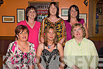 Happy 40: Maria Doody seated centre celebrated her birthday with friends at Leen's Hotel, Abbeyfeale on Saturday. Front: Joan McCarthy, Maria Doody, Marie O' Connor rear: Breda Collins, Olive Relihan and Bridget Sheehy.