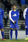 20 November 2016: FGCU's Miguel Jaime. The University of North Carolina Tar Heels hosted the Florida Gulf Coast University Eagles at Fetzer Field in Chapel Hill, North Carolina in a 2016 NCAA Division I Men's Soccer Tournament Second Round match. UNC defeated FGCU 3-2 in two overtimes.