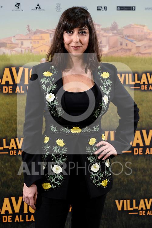 """Carmen Ruiz attends to the presentation of the spanish film """" Villaviciosa de al lado"""" in Madrid, Spain. November 29, 2016. (ALTERPHOTOS/BorjaB.Hojas)"""