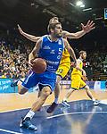10.02.2018, EWE Arena, Oldenburg, GER, BBL, EWE Baskets Oldenburg vs Rockets Erfurt, im Bild<br /> <br />  (EWE Baskets Oldenburg  #  )<br /> (Rockets Erfurt # )<br /> Foto &copy; nordphoto / Rojahn