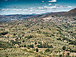 Hilltop city of Palombara Sabina, Italy<br /> <br /> 11th century Savelli-Torlonia Castle