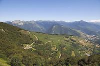 2010 Tour de France.Col d'Aspin
