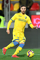 Marco Capuano of Frosinone in action during the Serie A 2018/2019 football match between Frosinone and Lazio at stadio Benito Stirpe, Frosinone, February 4, 2019 <br />  Foto Andrea Staccioli / Insidefoto