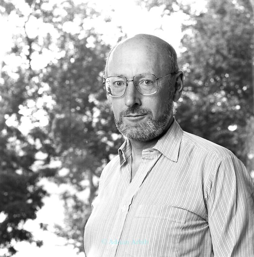 Clive Sinclair at a meeting of Mensa