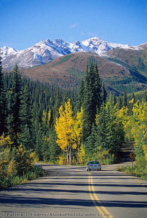 Autumn on the Denali Park Road, Denali National Park, Alaska.