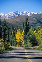 Autumn on the Denali Park Road, Denali National Park, Alaska.