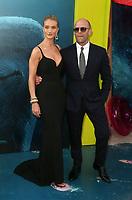 """AUG 06 """"The Meg"""" LA film premiere"""