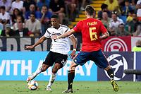 Benjamin Henrichs of Germany , Fabian Ruiz of Spain <br /> Udine 30-06-2019 Stadio Friuli <br /> Football UEFA Under 21 Championship Italy 2019<br /> Final <br /> Spain - Germany <br /> Photo Cesare Purini / Insidefoto