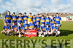 St Senans who played Currow in the Keane's SuperValu,Killorglin in the Minor Football League Final Division 3B Final at Na Gael GAA grounds Killeen,Tralee on Friday evening.