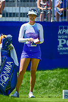 Michelle Wie (USA) looks over her tee shot on 1 during Sunday's final round of the 2017 KPMG Women's PGA Championship, at Olympia Fields Country Club, Olympia Fields, Illinois. 7/2/2017.<br /> Picture: Golffile | Ken Murray<br /> <br /> <br /> All photo usage must carry mandatory copyright credit (&copy; Golffile | Ken Murray)
