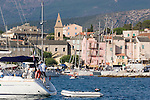Saint Florent, French coastal town, Haut Corse, Corsica, France, Mediterranean Coast,