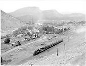 D&amp;RGW #476 leaving Durango with San Juan.<br /> D&amp;RGW  Durango, CO  Taken by Richardson, Robert W. - 9/16/1948