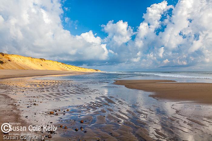Morning on Marconi Beach, Cape Cod National Seashore, Wellfleet, MA, USA