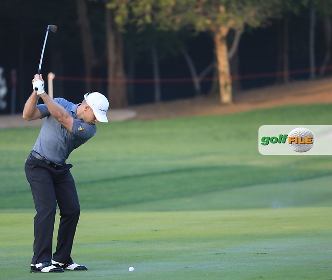 Trevor Fisher JNR (RSA) on the 11th during the 1st round of the Abu Dhabi HSBC Championship, Abu Dhabi Golf Club, Abu Dhabi,  United Arab Emirates. 19/01/2017<br /> Picture: Golffile | Fran Caffrey<br /> <br /> <br /> All photo usage must carry mandatory copyright credit (&copy; Golffile | Fran Caffrey)
