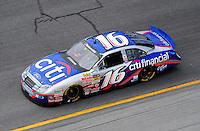 Jul. 3, 2008; Daytona Beach, FL, USA; Nascar Nationwide Series driver Colin Braun during practice for the Winn-Dixie 250 at Daytona International Speedway. Mandatory Credit: Mark J. Rebilas-