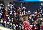 06.10.2019, Mercedes Benz Arena, Berlin, GER, 1.DEL, EISBAEREN BERLIN  VS.  Straubingen Tigers, im Bild <br /> Eisbaeren-Fankurve (Eisbaeren Berlin)<br /> <br />      <br /> Foto © nordphoto / Engler