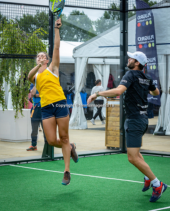 Den Bosch, Netherlands, 16 June, 2018, Tennis, Libema Open, Padel, semi final Mixed<br /> Photo: Henk Koster/tennisimages.com