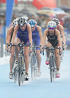 31 AUG 2007 - HAMBURG, GER - Rosie Clarke (GBR) - Under 23 Womens World Triathlon Championships. (PHOTO (C) NIGEL FARROW)