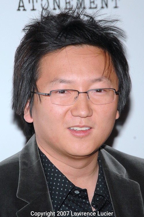 "Actor Masi Oka arrives at a screening of the film ""Atonement"" December 3, 2007, at the IFC Theater in New York City.. (Pictured : MASI OKA)."