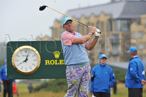 15/07/10    John DALY from the USA in action  on the Old Course , St  Andrews, Fife, Scotland in the first round of  British Open Championship