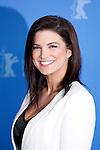 """Actress GINA CARANO poses for photographers at the photocall for the film """"Haywire"""" during the 62nd Berlin International Film Festival Berlinale."""