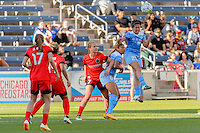 Bridgeview, IL - Sunday June 12, 2016: Danielle Colaprico during a regular season National Women's Soccer League (NWSL) match between the Chicago Red Stars and the Portland Thorns at FC Toyota Park.