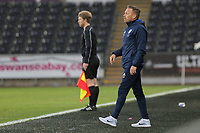 Pictured: Cardiff manager Craig Bellamy. Tuesday 01 May 2018<br /> Re: Swansea U19 v Cardiff U19 FAW Youth Cup Final at the Liberty Stadium, Swansea, Wales, UK