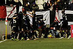 CD Leganes's players celebrate goal during La Liga match between Rayo Vallecano and CD Leganes at Vallecas Stadium in Madrid, Spain. February 04, 2019. (ALTERPHOTOS/A. Perez Meca)