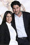 """Actress Soleil Moon Frye and Producer Jason Goldberg arrive at the Premiere Of Fox's """"What Happens In Vegas"""" on May 1, 2008 at the Mann Village Theatre in Los Angeles, California."""
