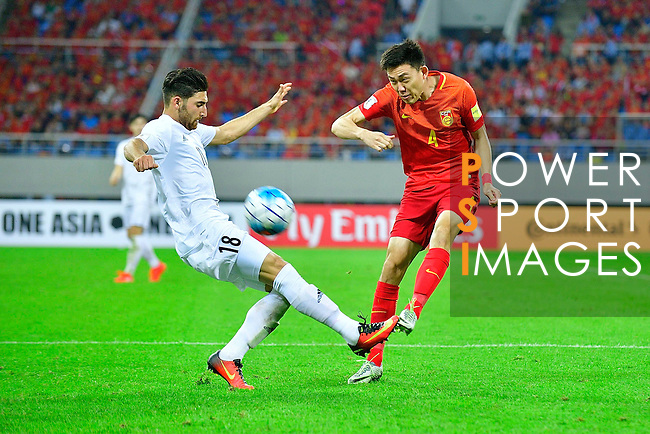 China PR vs IR Iran during their 2018 FIFA World Cup Russia Final Qualification Round Group A match at Shenyang Olympic Sports Center Stadium on 06 September 2016, in Shenyang, China. Photo by Marcio Machado / Power Sport Images